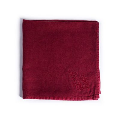 Windsor Bordeaux Napkins $69.00