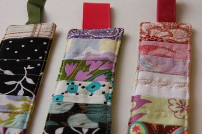 homemade birthday gifts | ... : Patchwork Bookmarks {Homemade Teacher Gift} | This Mama Makes Stuff