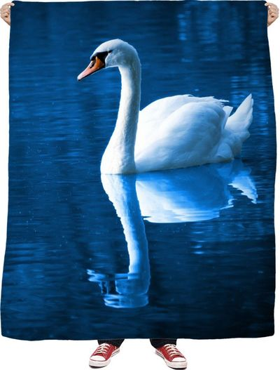 Swan Lake Fleece Blanket $65.00
