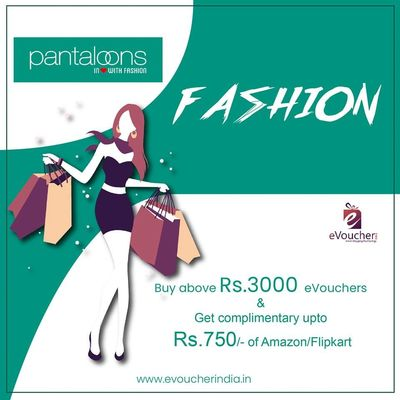 Buy PANTALOONS Gift Cards Online & PANTALOONS Gift Vouchers Online from India's leading gift online store. Give someone ultimate present by purchasing one of our PANTALOONS Gift Vouchers Online.