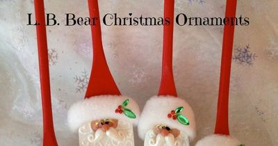 Wooden Spoon Christmas Craft Ideas The Christmas Tree
