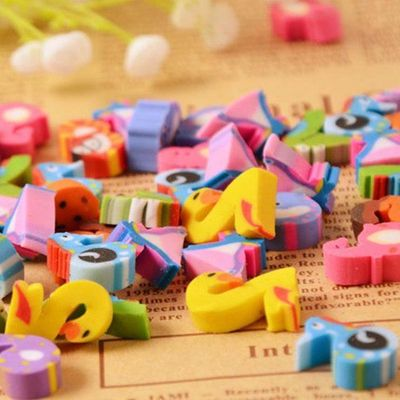 Pack of 20 Mini Assorted Numbers Erasers. Novelty Rubbers. Learning Correction Supplies. Children Stationery. Party Bag & School Pencil Case £2.79