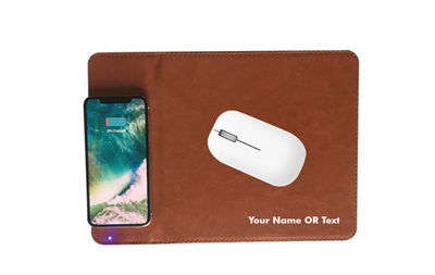 A mouse pad with wireless charging serves multiple purposes for computer and smartphone users. Because of its multiple uses, this can be a good promotional device for companies.