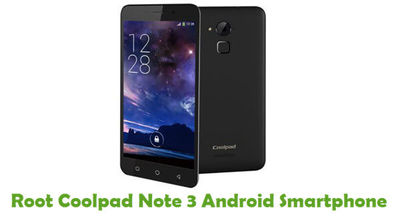 You can be able to root your Coolpad Note 3 Android Smartphone from this tutorial guide.