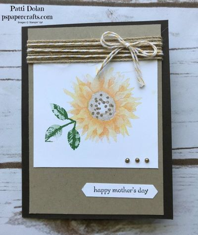 Painted Harvest Mother's Day Card