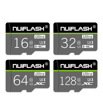Nuiflash NF-TF 05 C10 Memory Card 16GB 32GB 64GB 128GB TF Card Data Storage Card for Phone Camera