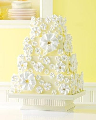 Victoria Secret Original Gift Card - http://p-interest.in/ Meringue wedding cake. A white cake with buttercream frosting and alternating layers of lemon curd and buttercream filling inside. Source: Martha Stewart Weddings audreyyoo