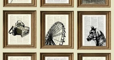The ideas using book pages could be adapted for wedding decorations- I see place cards at a reception, table decorations, a cover for a hand crafted guest book...