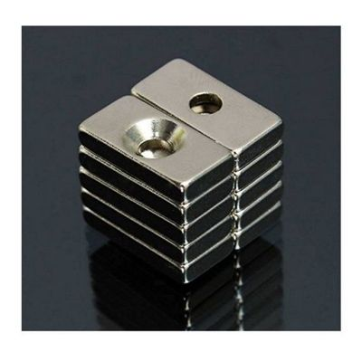 50 pcs 20 x 10 x 4 mm Strong Magnets 4 mm Hole Rare Earth Neodymium Magnet $22.30