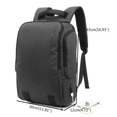 Men Large Capacity Outdoor Bag USB Charge Backpack