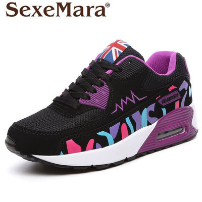 size EU35-39 women Casual Shoes woman Comfortable Breathable Mesh walking shoes female Lightweight damping Trainers shoes