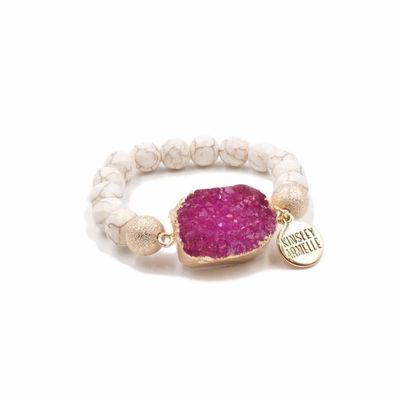 Kinsley Armelle - Druzy Bracelets, Earrings, Necklaces, and Rings