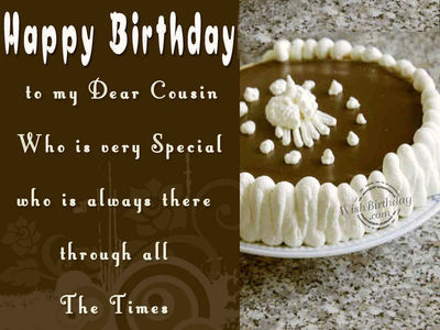 Happy Birthday Cousin Wallpapers Pictures