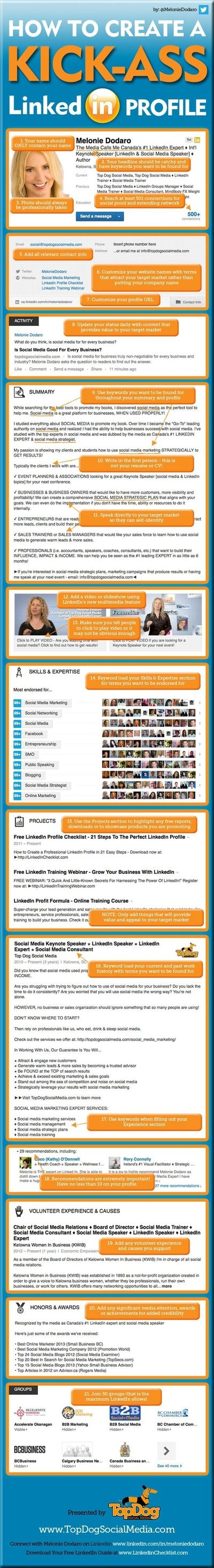 How to Create a Great LinkedIn Profile
