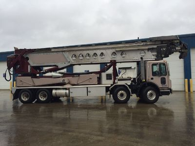 Putzmeister Truck Mounted Conveyors from Concrete Pump Depot.  Excellent condition concrete pump with 'Mack Enging make' consists of Eaton-Fuller transmission powered via 400 Horse powers.For more insight,please visit:  https://www.concret...