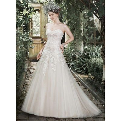 White Maggie Bridal by Maggie Sottero 5MB681 - Brand Wedding Store Online
