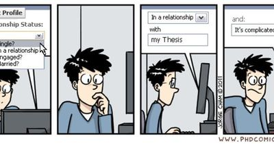 Phd Comics Relationship Status Three And A Half Years And