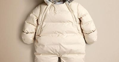 f01852f93 Down-Filled Puffer Onesie