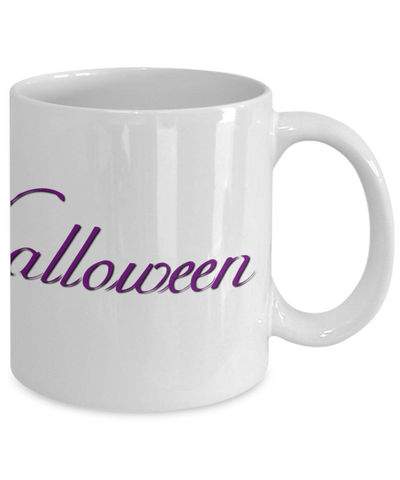 25% off Sale Happy Halloween, spider, mug, Samhain, Halloween, horror, scary, holiday mug, fall, seasonal, coffee mug, coffee cup, $15.95