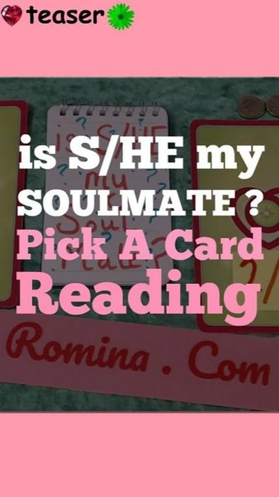 is S/HE your SOULMATE !?! Timeless Pick A Card Reading
