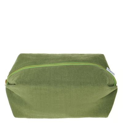 Designers Guild Brera Lino Forest Large Toiletry Bag $40.00