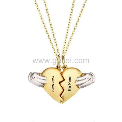 Magnetic 2 Hearts Couple Necklaces Gift for Boyfriend Girlfriend https://www.gullei.com/magnetic-2-hearts-couple-necklaces-gift-for-boyfriend-girlfriend.html