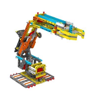Yahboom Programmable Arm:bit Robot Building Block Set Based on Micro:bit Compatible with LEGO for Kids Education