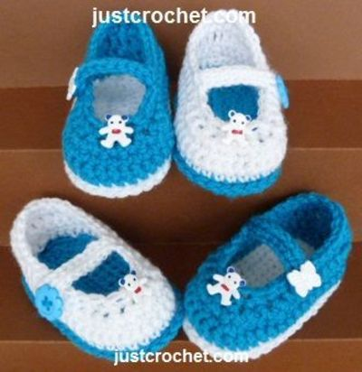 Free Baby Crochet Pattern For Mary Jane Shoes Httpjus
