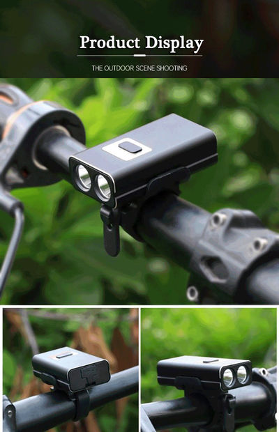 XANES DL15 600LM XPE 6 Modes LED Headlight Waterproof 2200mAh Battery USB Rechargeable