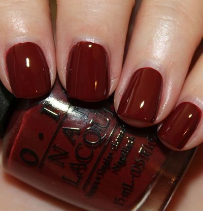 OPI Skyfall - the perfect winter look