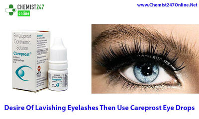 Careprost eye drops is one of the best and widely used medicine for the treatment of open angle glaucoma and hypotrichosis. Generic of Careprost is Bimatoprost eye drops, which is used for longer and darker eyelashes. Buy Careprost Online in USA - Chemist...