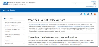 The CDC Finally Capitulated To ICAN's Legal Demands and Removed the Claim that �€œVaccines Do Not Cause Autism�€ From Its Website!