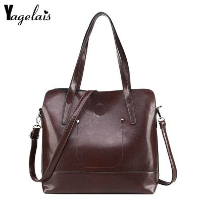 2018 Women Crossbody Bag Messenger PU Leather Shoulder Bags Pure Casual Handbags $47.80
