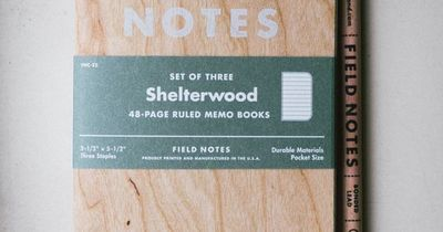Shelterwood Field/ The cover is real wood from sustainable harves