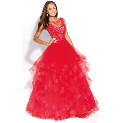 Black Madison James 17-200 Prom Dress 17200 - Ball Gowns Long Lace Dress - Customize Your Prom Dress