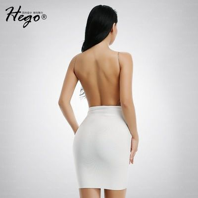 Vogue Sexy Open Back Slimming Summer Formal Wear Strappy Top Dress - Bonny YZOZO Boutique Store