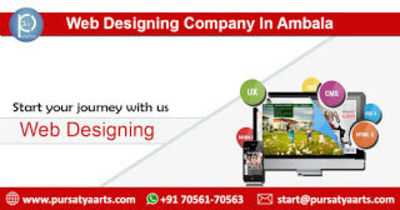 Best Website Development Digital Promotion, SEO, SMO Web Designing Company In Ambala.Customize your Digital Business Make Your Online Presence with Pursatya Arts. We offer 100% satisfaction to our customers. We are one of the best web design companies...
