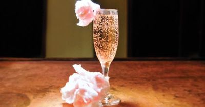 {Signature Drinks} Cotton Candy Champagne - Great for weddings, bridal showers, and bachelorette parties!