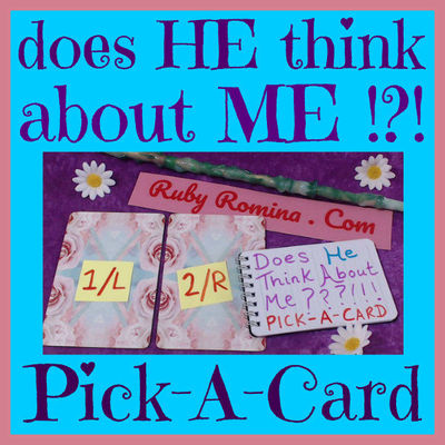 does HE think about ME !?! FREE Choose An Oracle Card Reading ...