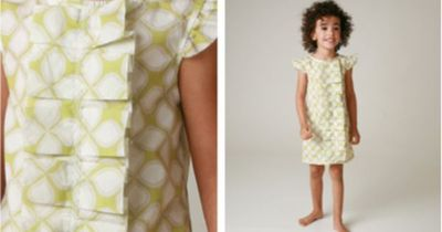 If I give this enough thought, I know I could make these dresses! That pleated ruffle is too darling!