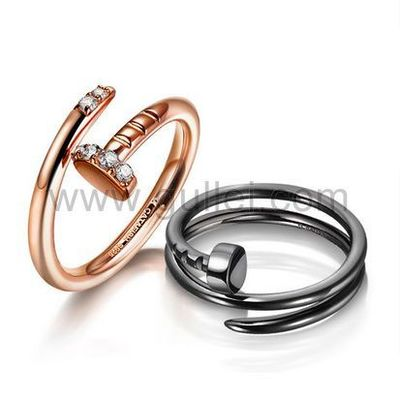 Gullei.com Personalized Engravable Gold Plated Couples Rings Set for 2