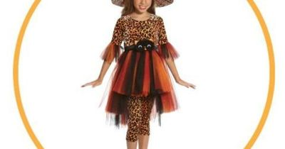 This is an adorable witch costume for girls! Found at: