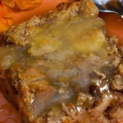 I don't know what it is with grandmas and bread pudding. But, when I have a grandma over for dinner and say I have bread pudding I see a big smile on their face. Just going to grandma's and giving her a tupperware of bread pudding puts you in the ...