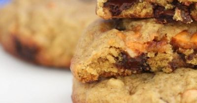 Double Pumpkin Kissed Chocolate Chunk Cookies 2 sticks softened butter ...