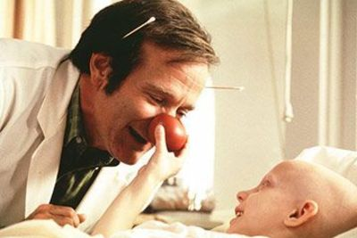 robin williams/patch adams <3. such a sweet movieee