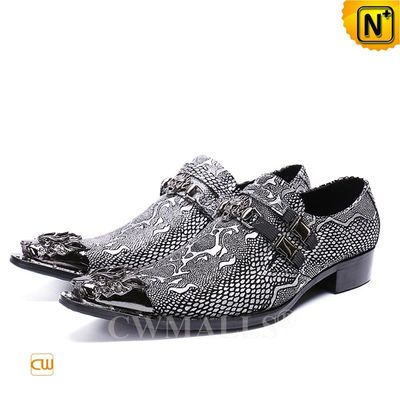 Men Leather Shoes & Leather Jackets | CWMALLS® Miami Leather Dress Shoes CW708213 [Custom Made]