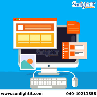 Sunlight IT is a major web designing company in Hyderabad providing professional services in web designing, search engine optimization, web development, logo, E-brochures and brochures designing. Our talented team provides professional services at a nomin...