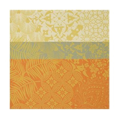 Autour Du Monde Placemats & Napkins in Yellow $92.00
