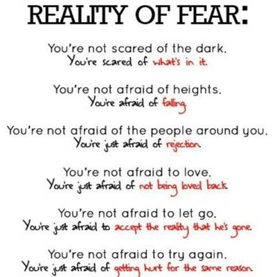 See I've always said I'm not scared of the dark but what's in it I can't see!!