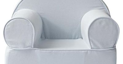 Small Light Blue Nod Chair   The Land of Nod